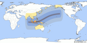 Total solar eclipse 9 March