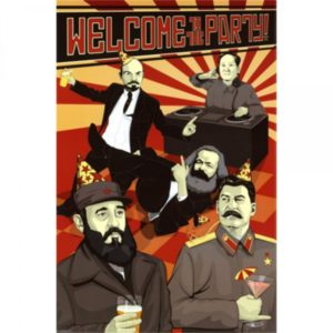 Leaders communist poster
